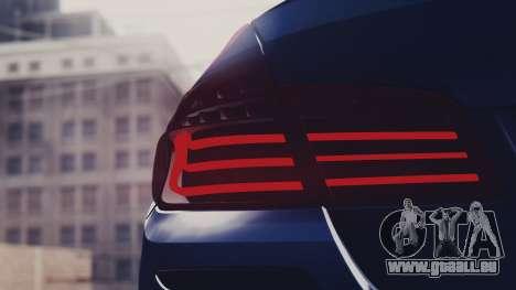 BMW M5 F10 Stock MTA Version für GTA San Andreas Innenansicht