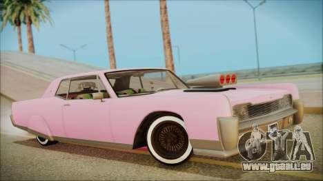GTA 5 Vapid Chino Hydraulic Version für GTA San Andreas
