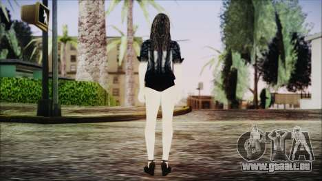 Home Girl Chola 1 pour GTA San Andreas troisième écran