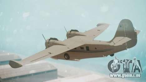 Grumman G-21 Goose WhiteBlueLines pour GTA San Andreas laissé vue