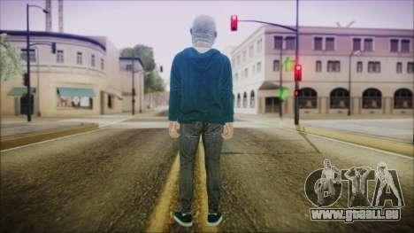 DLC Halloween GTA 5 Skin 1 pour GTA San Andreas troisième écran