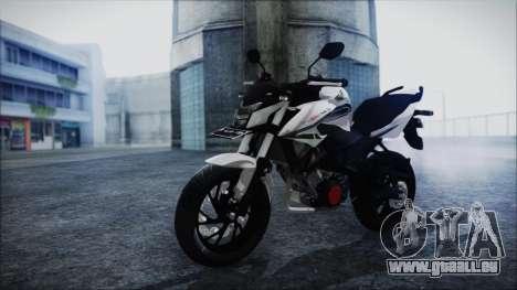 Honda CB150R White pour GTA San Andreas