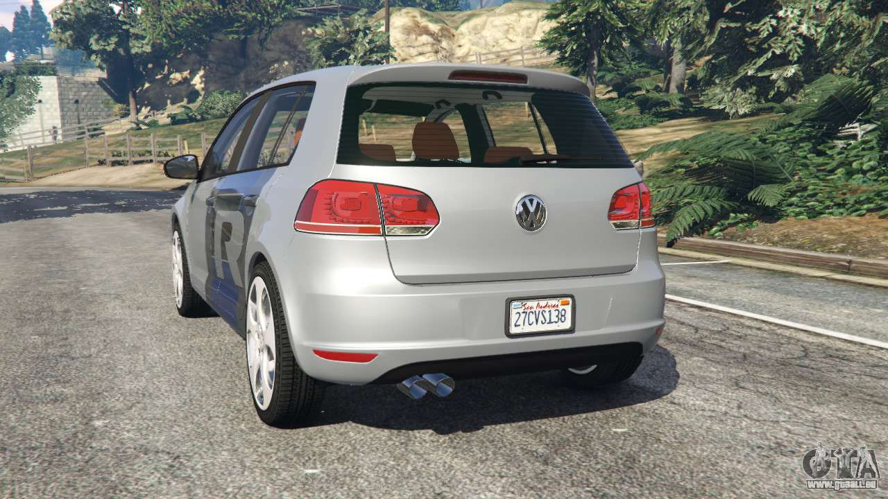 volkswagen golf mk6 v2 0 wrc polo pour gta 5. Black Bedroom Furniture Sets. Home Design Ideas