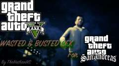 Cleo GTA 5 Wasted and Busted Sound