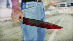 Helloween Butcher Knife pour GTA San Andreas