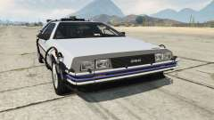 DeLorean DMC-12 Back To The Future