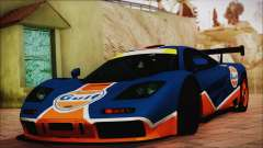 McLaren F1 GTR 1996 Gulf (GoodWood 2008) für GTA San Andreas
