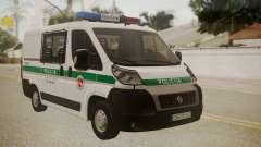 Fiat Ducato Lithuanian Police pour GTA San Andreas