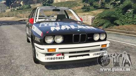 BMW M3 (E30) 1991 [Nalan] v1.2 pour GTA 5