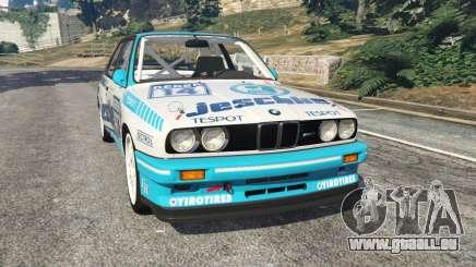 BMW M3 (E30) 1991 [Jeschke] v1.2 pour GTA 5