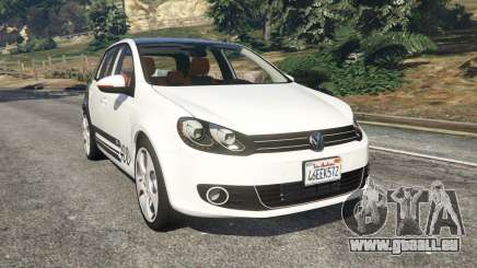 Volkswagen Golf Mk6 v2.0 [ABT] für GTA 5
