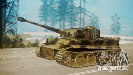 Panzerkampfwagen VI Tiger Ausf. H1 pour GTA San Andreas