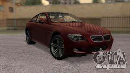 BMW M6 E63 pour GTA San Andreas