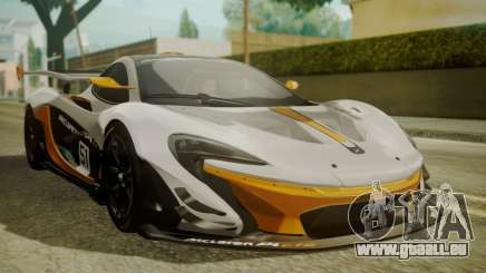 McLaren P1 GTR 2015 pour GTA San Andreas