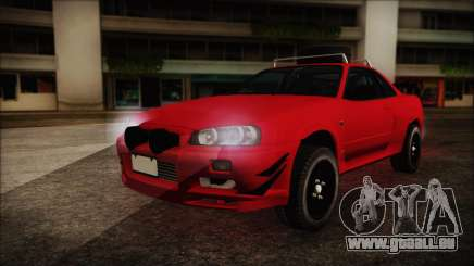 Nissan Skyline R34 Offroad Spec pour GTA San Andreas