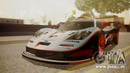 McLaren F1 GTR 1998 Gulf Team für GTA San Andreas