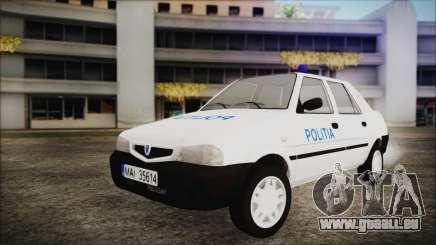 Dacia Solenza Politia pour GTA San Andreas