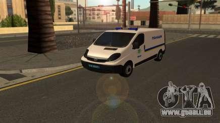 Opel Vivaro Polizei Der Ukraine für GTA San Andreas