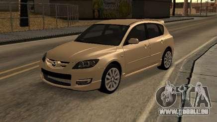 Mazda 3 MPS Tunable für GTA San Andreas