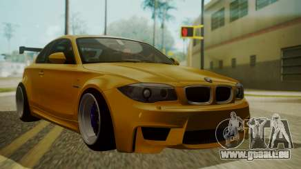 BMW 1M E82 without Sunroof pour GTA San Andreas