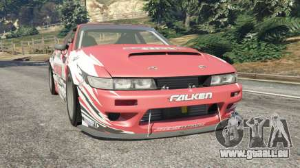 Nissan Silvia S13 v1.2 [with livery] pour GTA 5