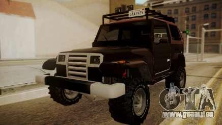 New Mesa Wild pour GTA San Andreas