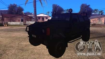 Komatsu LAV 4x4 Unarmed pour GTA San Andreas