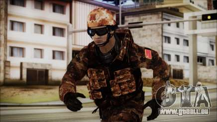 Chinese Army Desert Camo 1 pour GTA San Andreas
