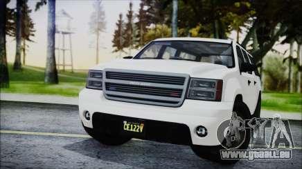 GTA 5 Declasse Granger FIB SUV für GTA San Andreas