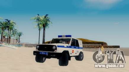 UAZ Hunter SPSP pour GTA San Andreas