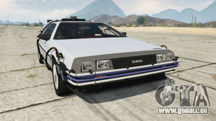 DeLorean DMC-12 Back To The Future pour GTA 5
