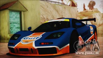 McLaren F1 GTR 1996 Gulf (GoodWood 2008) pour GTA San Andreas