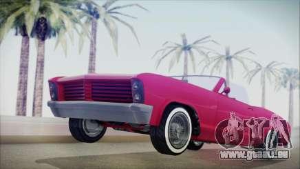 GTA 5 Albany Buccaneer Custom IVF pour GTA San Andreas