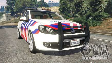 Volkswagen Golf Mk6 Dutch Police für GTA 5