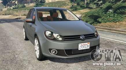 Volkswagen Golf Mk6 v2.0 pour GTA 5