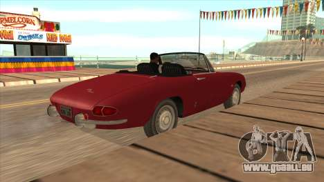 1966 Alfa Romeo Spider Duetto [IVF] für GTA San Andreas linke Ansicht