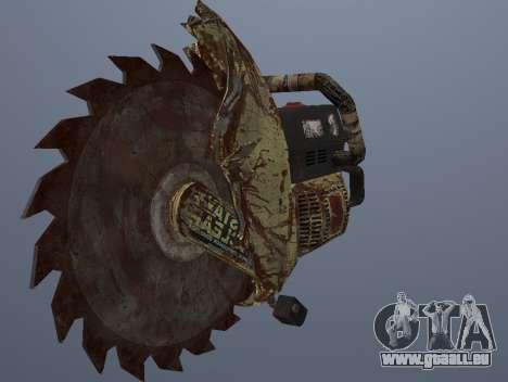 Manuel De Scie Circulaire pour GTA San Andreas deuxième écran