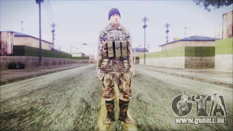 World In Conflict Malashenko Winter pour GTA San Andreas deuxième écran