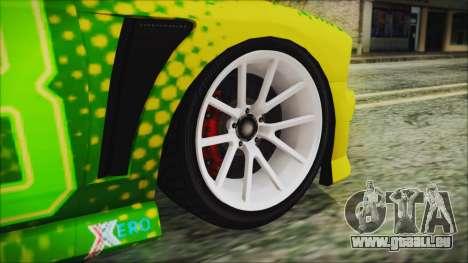 GTA 5 Bravado Buffalo Sprunk pour GTA San Andreas sur la vue arrière gauche