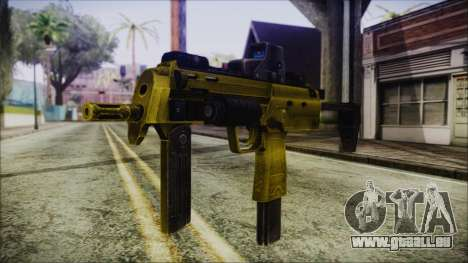 Point Blank MP7 Gold Special für GTA San Andreas
