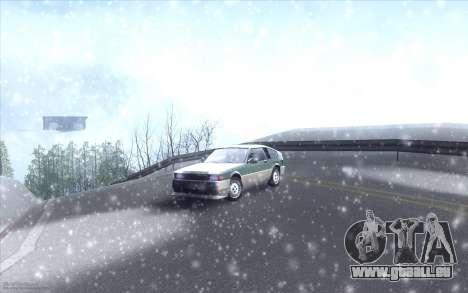 Winter Vacation 2.0 SA-MP Edition für GTA San Andreas siebten Screenshot