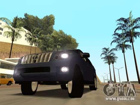 Toyota Land Cruiser Prado für GTA San Andreas Innenansicht