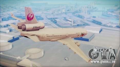 McDonnell-Douglas MD-11 Japan Airlines pour GTA San Andreas laissé vue
