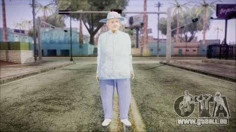 World In Conflict Old Lady für GTA San Andreas zweiten Screenshot