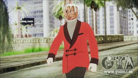 Skin DLC Executive Xmas für GTA San Andreas