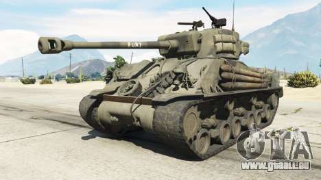 M4A3E8 Sherman Fury für GTA 5