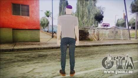 GTA Online Skin 1 pour GTA San Andreas troisième écran
