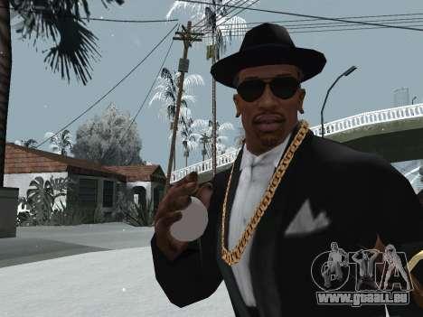 Jeter de la neige pour GTA San Andreas