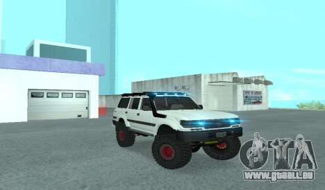 Toyota Autana 4500 off-road LED pour GTA San Andreas