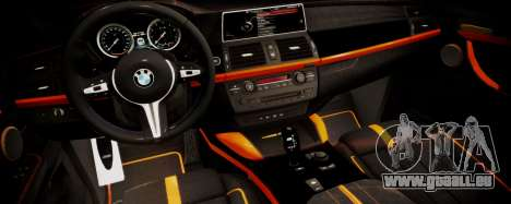 BMW X5M SMOTRA.GT pour GTA San Andreas vue de droite